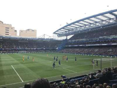 Stamford Bridge, section: MHL, row: S, seat: 131