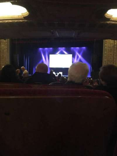 Chicago Theatre, section: Main Floor - door 3, row: R, seat: 304