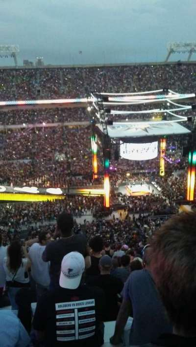 Camping World Stadium, section: 236, row: CC, seat: 15