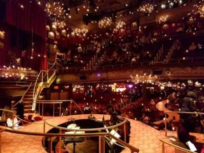 Walter Kerr Theatre, section: Onstage, row: TR, seat: 4