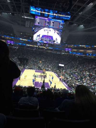 Golden 1 Center, section: 114, row: W, seat: 6