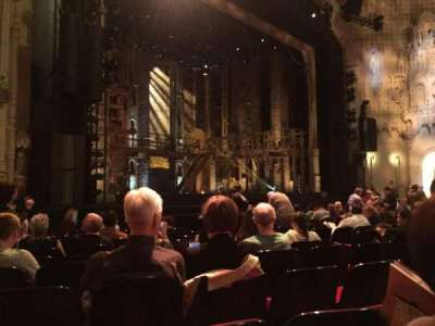 Orpheum Theatre (San Francisco), section: Orchestra, row: M, seat: 13