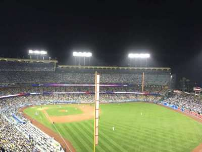 Dodger Stadium, section: 54rs, row: Ff, seat: 13
