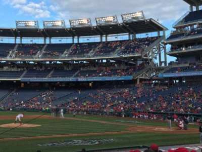 Nationals Park, section: 116, row: R, seat: 17