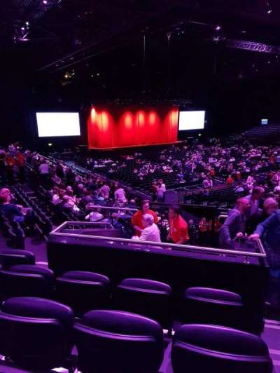 Genting Arena, section: 11, row: Q, seat: 350