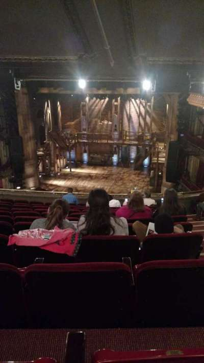 PrivateBank Theatre, section: Mezzanine RC, row: L, seat: 322