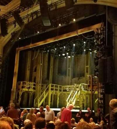 Orpheum Theatre (San Francisco), section: orchestra, row: s, seat: 20