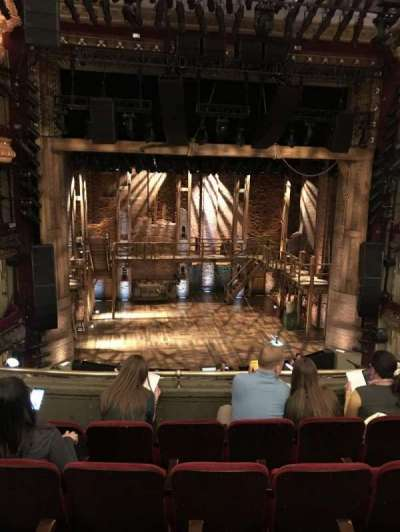 PrivateBank Theatre, section: Mezzanine LC, row: E, seat: 309