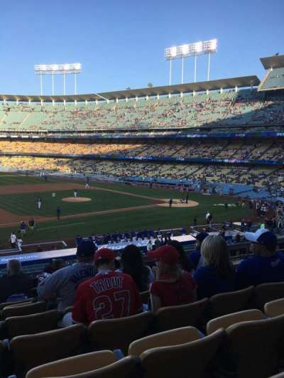 Dodger Stadium section 137LG
