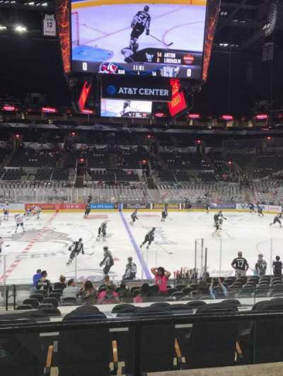 AT&T Center section 108