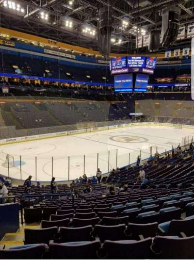 Scottrade Center, section: 106, row: BB, seat: 18-19
