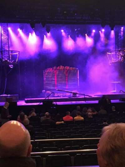 Delightful The Theatre At Madison Square Garden, Section: 201, Row: B, Seat