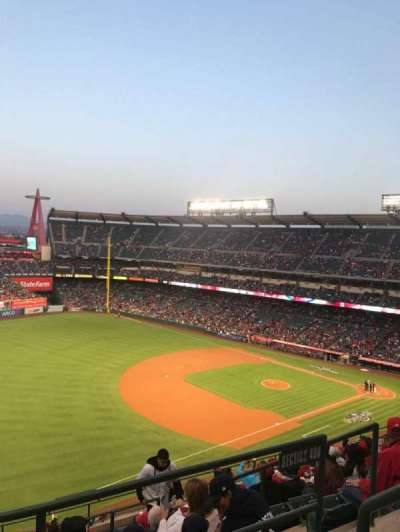 Angel Stadium, section: V509, row: A, seat: 18