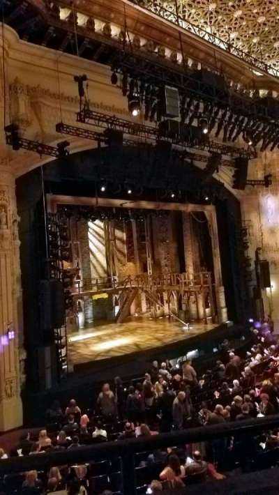 Orpheum Theatre (San Francisco), section: Loge, row: B, seat: 29