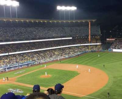 Dodger Stadium, section: 28RS, row: E, seat: 18