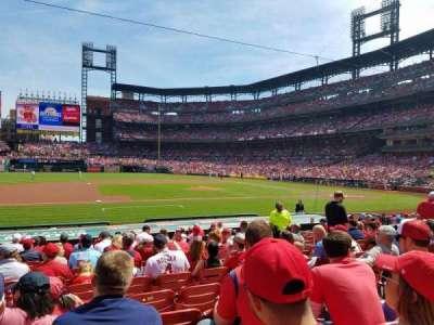 Busch Stadium, section: 157, row: 6, seat: 9