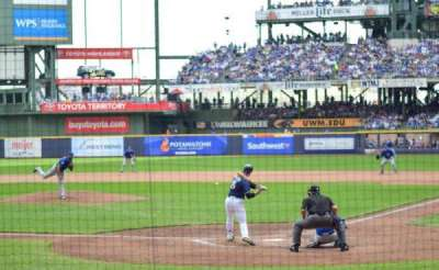 Miller Park, section: 119, row: 8, seat: 2