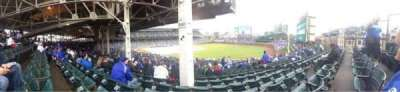 Wrigley Field, section: 240, row: 24, seat: 107