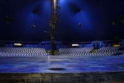 Cirque Du Soleil - Volta, section: 103, row: AA, seat: 1