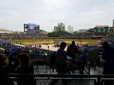 Wrigley Field, section: 220, row: 2, seat: 5