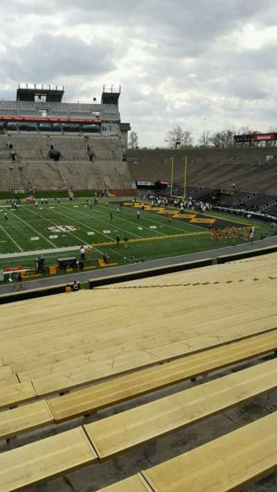Faurot Field, section: J, row: 39, seat: 7