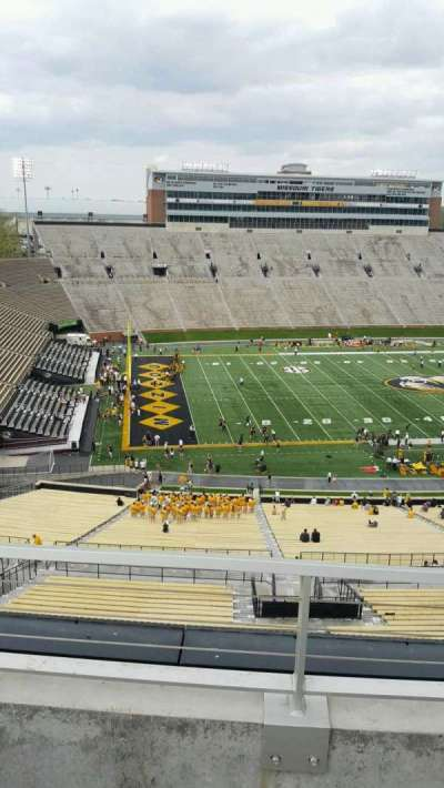 Faurot Field , section: 303, row: 2, seat: 7
