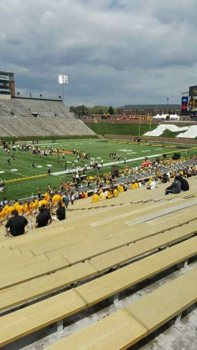 Faurot Field , section: CC, row: 35, seat: 7