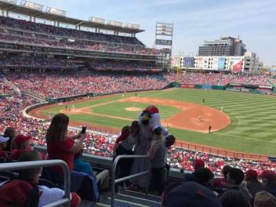 Nationals Park, section: 221, row: F, seat: 10