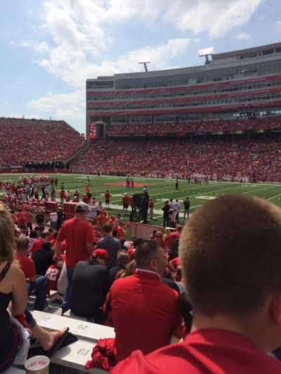 Memorial Stadium (Lincoln), section: 2, row: 10, seat: 14