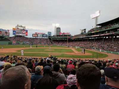 Fenway Park, section: Loge Box 140, row: EE, seat: 4