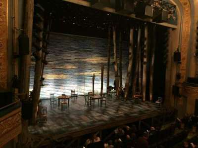 Gerald Schoenfeld Theatre, section: Left Mezzanine, row: A, seat: 13