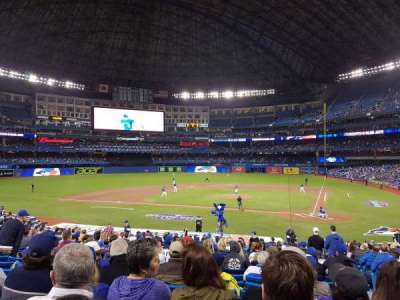 Rogers Centre, section: 124L, row: 28, seat: 103
