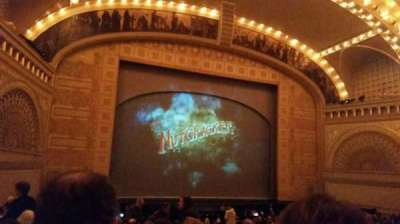 Auditorium Theatre, section: Orch-L, row: W, seat: 409
