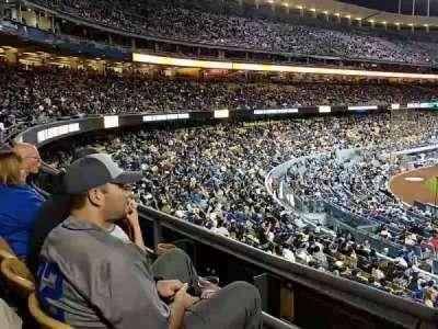 Dodger Stadium, section: 116LG, row: B, seat: 2