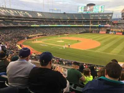 Oakland Alameda Coliseum, section: 209, row: 7, seat: 3