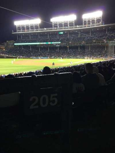 Wrigley Field section 205