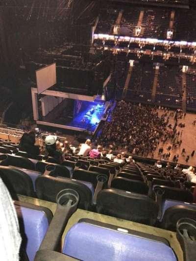 The O2 Arena, section: 403, row: R, seat: 500
