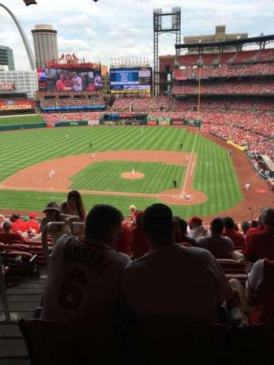 Busch Stadium, section: 253, row: 13, seat: 17