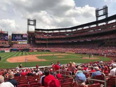 Busch Stadium, section: 158, row: 18, seat: 5