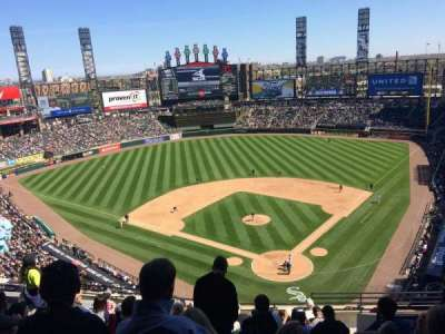 Guaranteed Rate Field, section: 534, row: 12, seat: 6