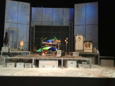 Tony Kiser Theatre, section: Orchestra, row: D, seat: 105