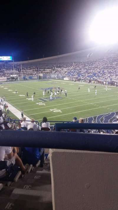 Liberty Bowl Memorial Stadium, section: 130, row: 34, seat: 2