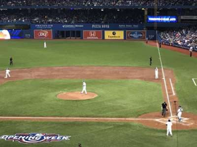Rogers Centre, section: 227L, row: 8, seat: 103