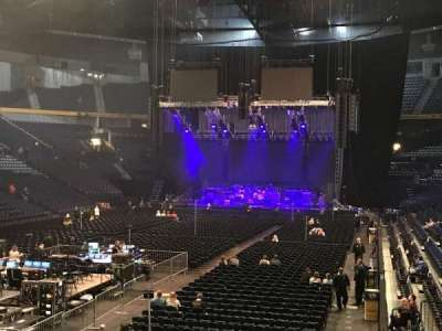 Bridgestone Arena, section: 102, row: C, seat: 19