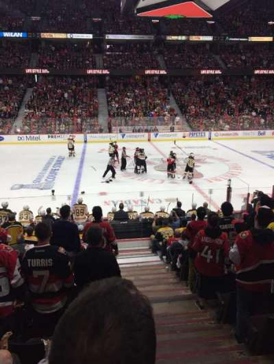 Canadian Tire Centre, section: 107, row: L, seat: 1-2