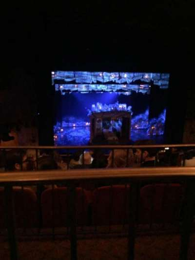 August Wilson Theatre, section: MezzL, row: H, seat: 7