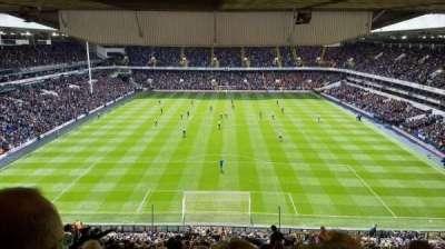 White Hart Lane, section: 53, row: 22, seat: 161