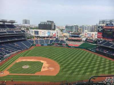 Nationals Park, section: 419, row: L, seat: 4
