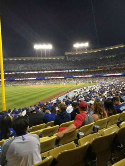 Dodger Stadium, section: 49FD, row: R, seat: 20