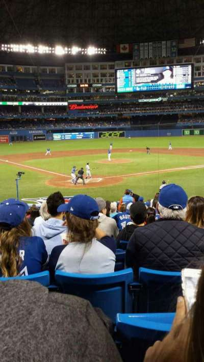 Rogers Centre, section: 120L, row: 24, seat: 109